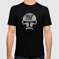 Execute Every Order Mens Fitted Tee Black SMALL