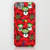 Mariachi Snowmen iPhone 6 Slim Case