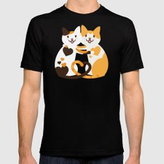Lovecats Mens Fitted Tee Black SMALL