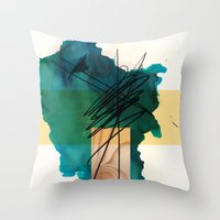Woodone Throw Pillow