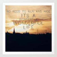 It's A Wonderful Life Art Print