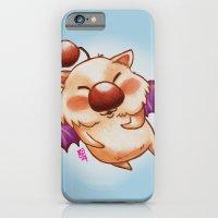 iPhone & iPod Case featuring Moogle Fan Art Doodle by Kristin Frenzel