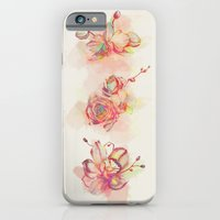 Roses & Orchids iPhone 6 Slim Case