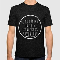 I. Be My Captain Mens Fitted Tee Tri-Black SMALL
