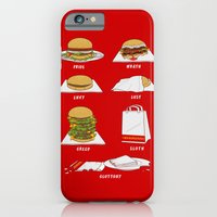 Seven Deadly Hamburgers iPhone 6 Slim Case
