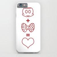 Mickey loves Minnie iPhone 6 Slim Case