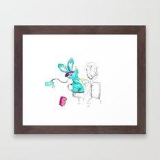 Go Juice Framed Art Print
