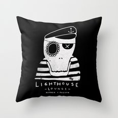 One-Eyed Willy Throw Pillow