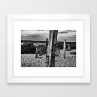 Dungeness 3 Framed Art Print