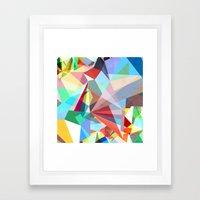 Colorflash 5 Framed Art Print