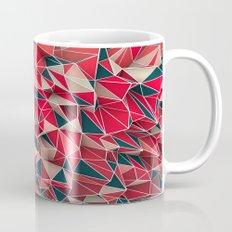 Abstract Red Mug