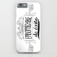 iPhone & iPod Case featuring Emborráchate de éxito by metroymediodesigns