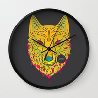 The Unbridled Anger of a Decapitated Direwolf Wall Clock