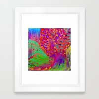 Special Garden Framed Art Print