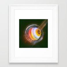 ANDROGYNOUS (everyday 01.11.16) Framed Art Print