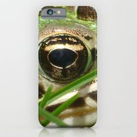 iPhone & iPod Case featuring Northern Leopard Frog by Ornithology
