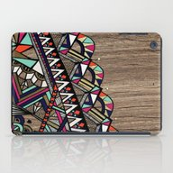 Wood Abstract iPad Case