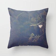Murky Waters Throw Pillow