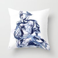 Cross You're Legs And … Throw Pillow