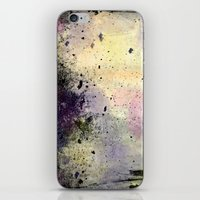 Abstract Mixed Media Design iPhone & iPod Skin