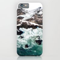 iPhone & iPod Case featuring Sea and Mountains by David Bastidas