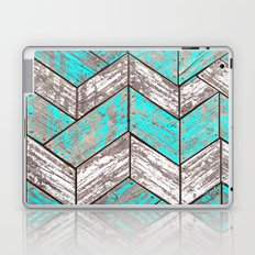 SHORELINE CHEVRONS (1 of 3) Laptop & iPad Skin