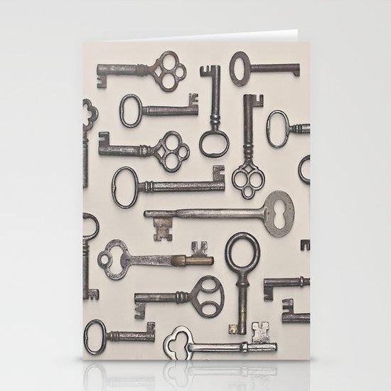 Labyrinth (Grey Version) Stationery Card