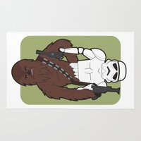 Chewbacca And Stormtroop… Rug