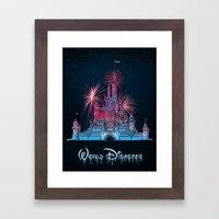 Castle Of Dreams Framed Art Print