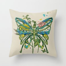 Lifeforms Throw Pillow