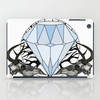 Diamond and skulls iPad Case