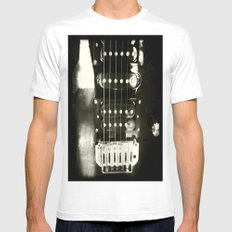 Sound Light Mens Fitted Tee White SMALL