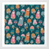 Pattern Project #49 / Mu… Art Print
