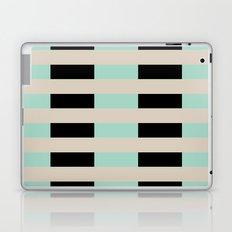 Tan Black Mint Checkerboard Laptop & iPad Skin