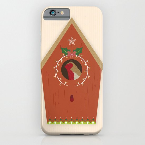 Red Bird House iPhone & iPod Case