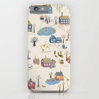 iPhone & iPod Case featuring Little Village by Ulrika Kestere