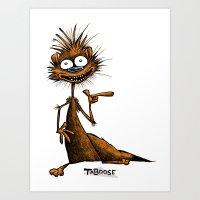 Taboose The Meerkat Art Print