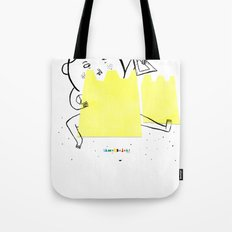 Castle in the sand Tote Bag