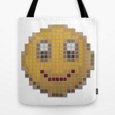 Emoticon Smile Tote Bag