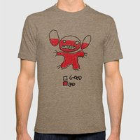 Stitch Good&bad Meter...… Mens Fitted Tee Tri-Coffee SMALL