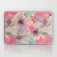 Watercolour Flowers Laptop & iPad Skin