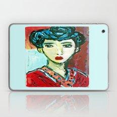 LADY MATISSE IN TEEN YEARS Laptop & iPad Skin