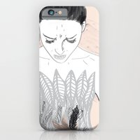iPhone & iPod Case featuring Black Swan  by Eltina Giannopoulou