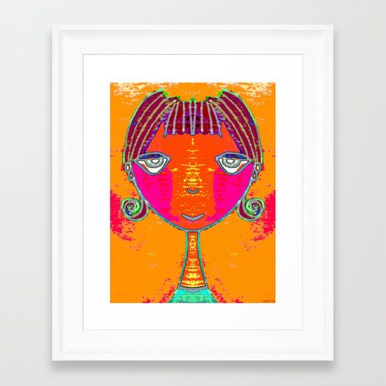 ADITI Framed Art Print