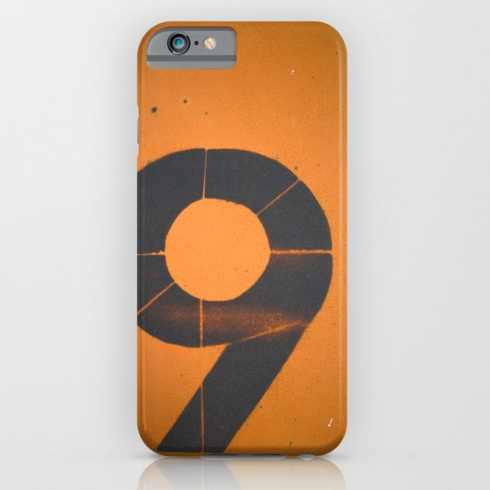 Old Number 9 iPhone & iPod Case