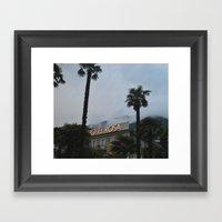 Hotel Rosa Framed Art Print