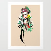 The Art of Frida Kahlo Art Print