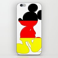 German Mickey Maus iPhone & iPod Skin
