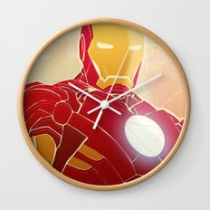 Iron Man Armor Wall Clock