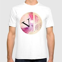 VEA 21 Mens Fitted Tee White SMALL